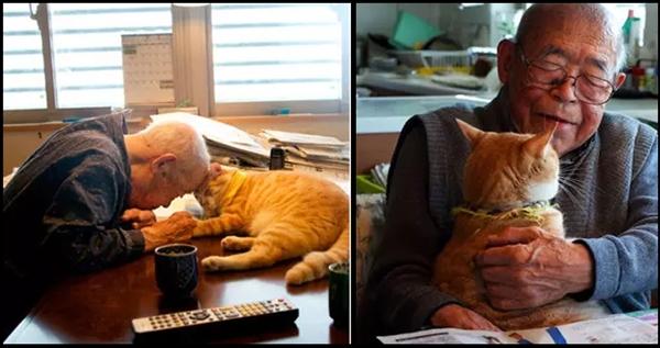 Kakek Pemarah ini berubah Drastis karena Kucing Lucu ini