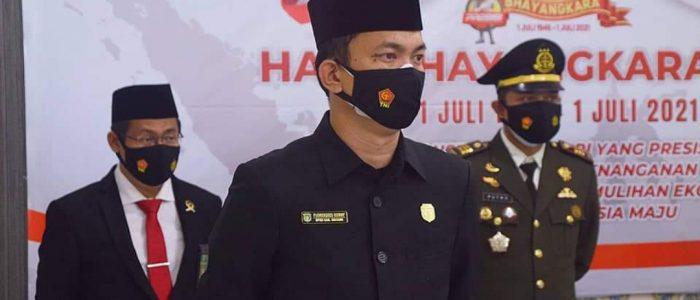 Hadiri Hut Bhayangkara Ke-75, Ketua DPRD Sintang Harap Polisi Semakin Maju dan Terdepan