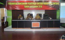 Permalink to Sekretaris  Daerah Kabupaten Sintang  Buka  Rapat Pembahasan  Raperda Kabupaten Sintang Tahun Anggaran 2019
